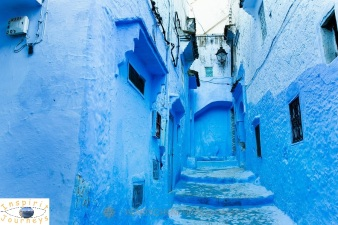 Blue City (Chefchaouen) - edited